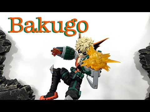 Max Factory Figma My Hero Academia KATSUKI BAKUGO Action Figure Review