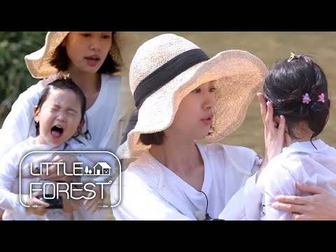 So Min Stretches out Yoo Jin's Arm and Catches Her! [Little Forest Ep 7]