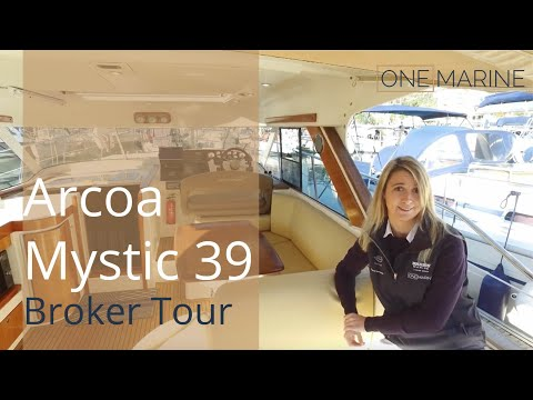 Arcoa Mystic 39 Broker Yacht Tour | For Sale at €129,000 | O