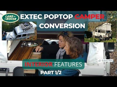 Pop Top Defender 110 Overlander Interior Extec Rr Concepts