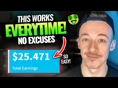 The Easiest Way To Earn $25+ Over & Over Again   Make Money Online For Beginners 2021