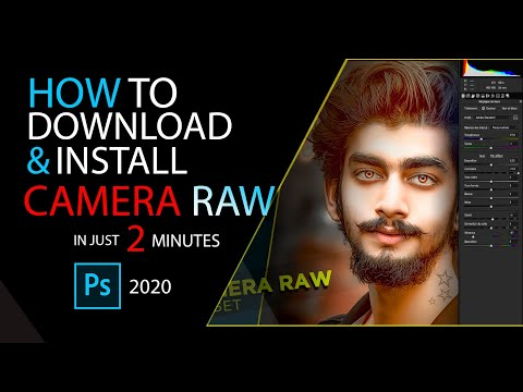 Camera Raw Download And Install For Photoshop | CS6 & CC 2019