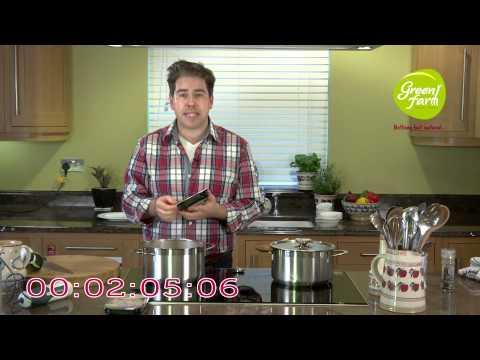 Green Farm - 7 Minute Recipe with Edward Hayden - Winter Vegetable & Turkey Soup