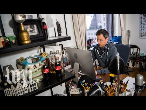 Seth Meyers sits down with The Washington Post