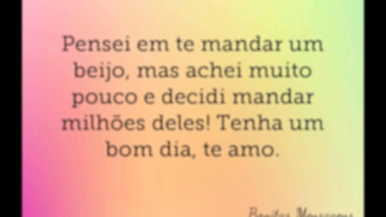 Frases De Amor Bom Dia Para Namorada