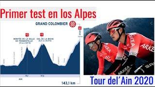 Tour del´Ain Primer Test en los Alpes previo al Tour de France