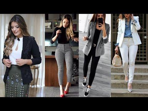 LOOKS MODERNOS Y JUVENILES PARA LA OFICINA 2019/2020!!! Ideas De Outfits