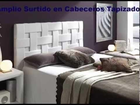 Cabeceros para camas de matrimonio en colores claros youtube - Cabeceros para camas ...