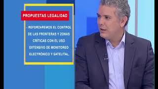 Entrevista a Iván Duque, candidato a la presidencia de Colombia. | City TV