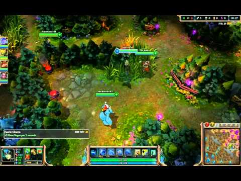 Flora leveling on League of Legends - STREAM