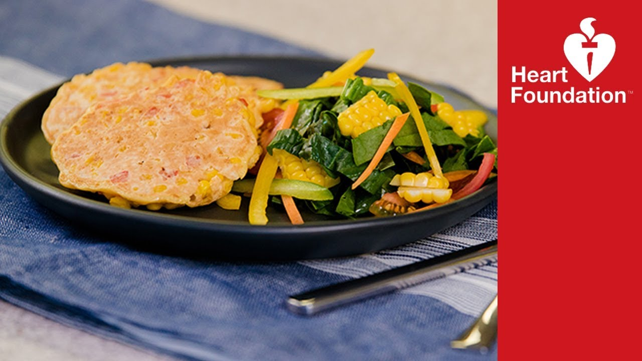 Corn fritters easy recipe heart foundation nz youtube corn fritters easy recipe heart foundation nz forumfinder Image collections