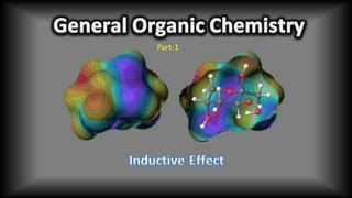 General Organic Chemistry-Part-2-Inductive Effect Video Tutorial by C.V. Kalyan Kumar