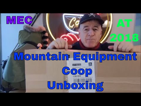 Mountain Equipment Co-op Unboxing