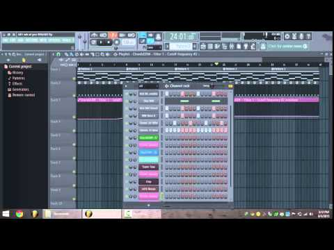 How to make Skrillex - All I ask of you In 12 Minutes (FL studio 12 tutorial)