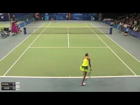 Alexandrova Ekaterina v Dodin Oceane - 2016 ITF Poitiers