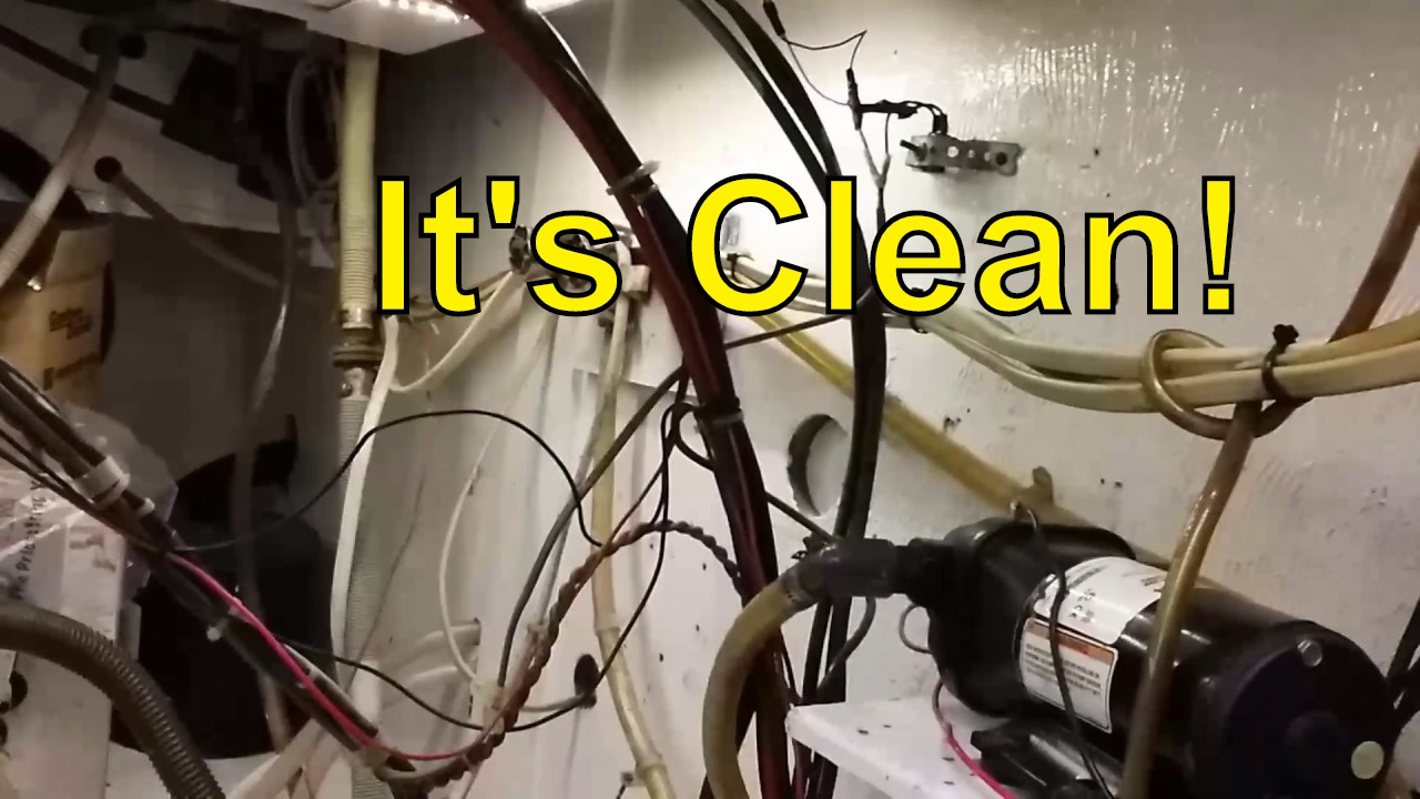 hight resolution of engine room clean up and paint