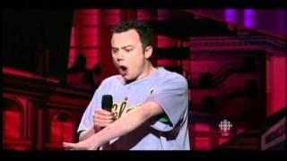 Sam Easton at the Winnipeg Comedy Festival