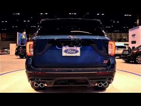 NEW 2020 - Ford Explorer ST V6 400hp Sport SUV - Exterior and Interior 1080p 60fps