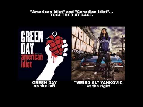"""American Idiot"" and ""Canadian Idiot""... TOGETHER AT LAST."