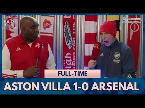 Aston Villa 1-0 Arsenal | This Is Not Acceptable! (Lee Judges Rant)