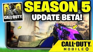 SEASON 5 UPDATE BETA in Call of Duty Mobile... (FREE REWARDS)