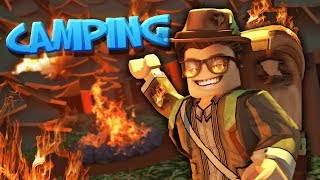 i ruined this entire ROBLOX camping trip...