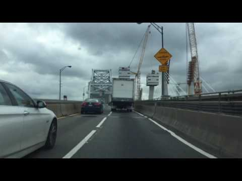 A last ride over the old Goethals Bridge