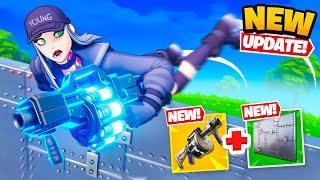 *NEW* ARMOURED WALL + Shockwave Launcher in Fortnite