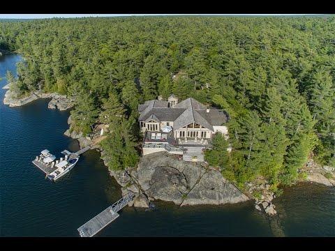 Exclusive Dream Estate in Georgian Bay, Canada