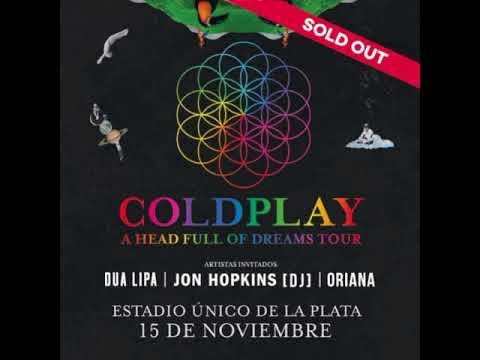 Coldplay - 15 Noviembre La Plata BsAs (Audio Completo)