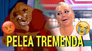 Gran pelea entre Jorge Javier y Belén Esteban 😡 (Versión Disney)