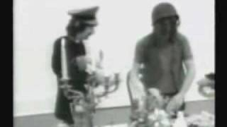 Rare Corporal Clegg video, Pink Floyd