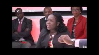Monique Gbekia (LIDER) dans le Grand Talk (Voxafrica) face à M. Touré