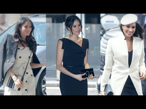 Inside Meghan Markle's Style Evolution: From Red Carpet Princess to Real-Life Royalty