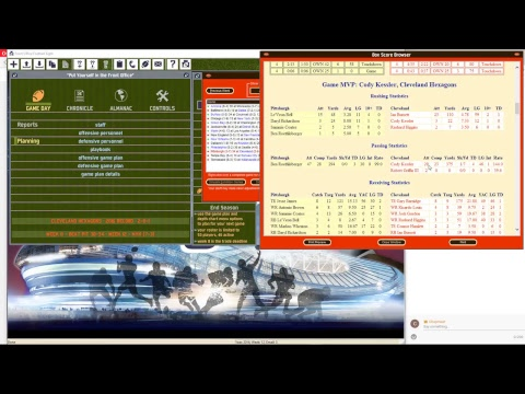 Front Office Football 8 Live Stream Cleveland Browns
