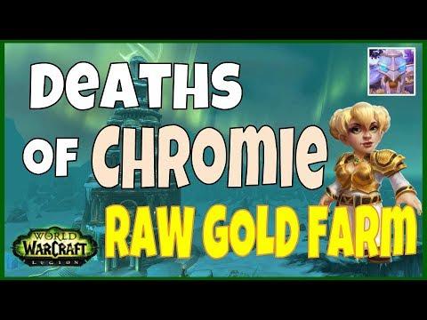 WoW Legion Gold Farming - Deaths of Chrome WoW Gold Guide - 7.2.5