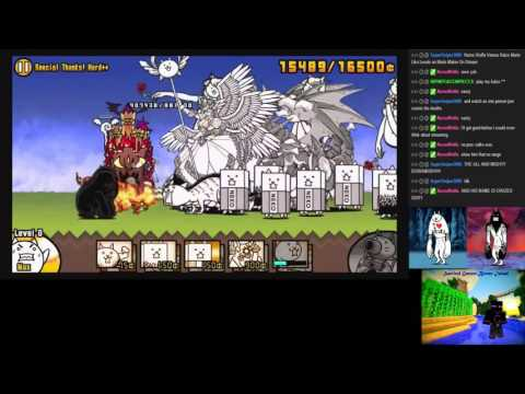 The Battle Cats Stream Highlight THE ONE AND ONLY DIORAMOS! (12/11/15)