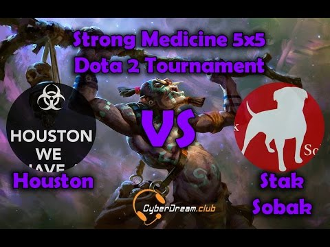 Strong Medicine 5x5 Dota 2 Tournament Houston vs Stak sobak