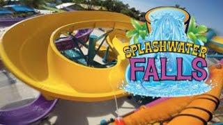 NEW for 2016 Six Flags America Splashwater Falls HD