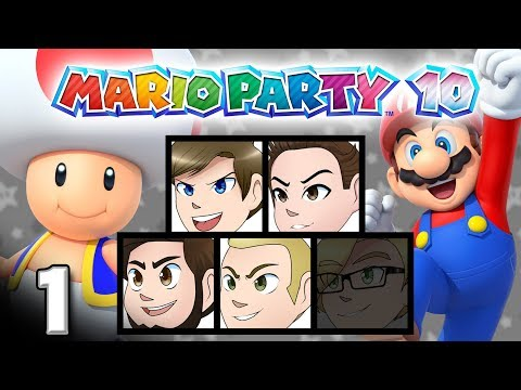 Mario Party 10: Donkey Kong Surge? - EPISODE 1 - Friends Without Benefits
