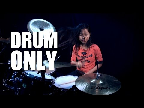 Bon Jovi - You Give Love A Bad Name (DRUM ONLY) by Nur Amira Syahira