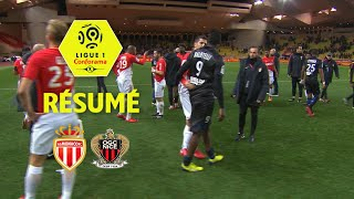 AS Monaco - OGC Nice (2-2)  - Résumé - (ASM - OGCN) / 2017-18