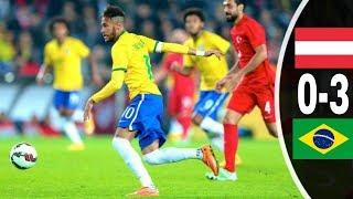 Highlights Austria vs Brazil 0-3 Friendlies match 2018 All goals