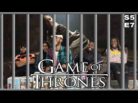 """Game of Thrones Season 5 Episode 7 """"The Gift"""" Reaction Review"""