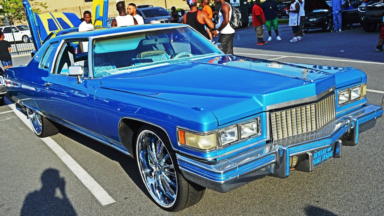 Baby Blue Cadillac DeVille (BWYB Motorsports - BATTLE OF THE TRIAD