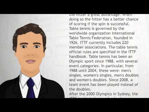 Table Tennis - Wiki Videos