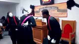 Youthful Praise & J.J. Hairston (Powerful God) - UCOFB Mime Ministry (Power Pack November 23, 2014)
