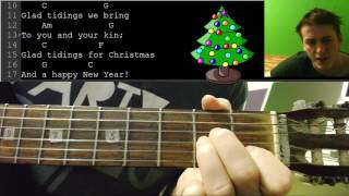 Merry christmas НОВОГОДНИЕ АККОРДЫ 🎸 школа гитары