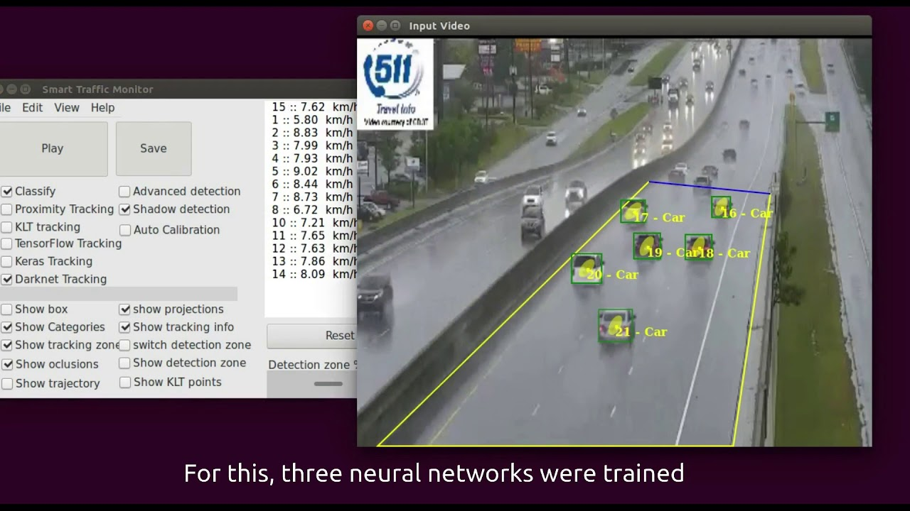 Smart-Traffic-Sensor  Low Quality and Unfavorable Weather Conditions Video