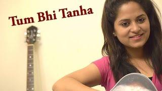 Tum Bhi Tanha / Tare hain Barati | Acoustic Live Cover by Amrita Nayak | One Take Session